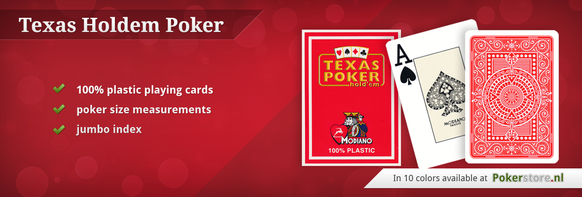 Texas Holdem Poker Cards Modiano