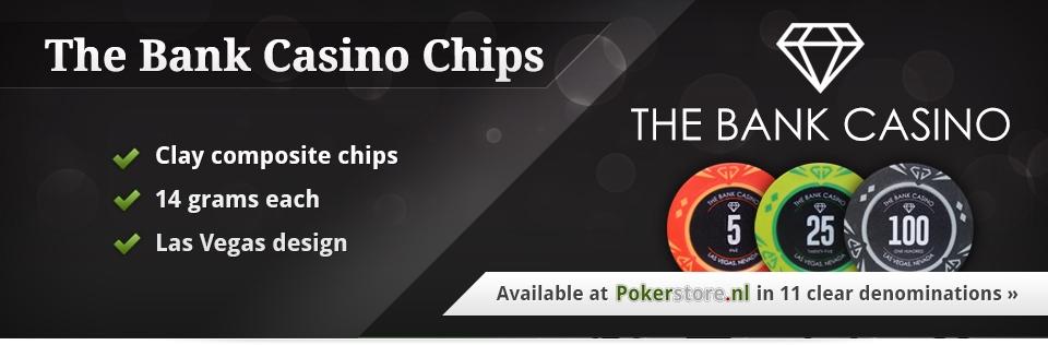 The Bank Casino Poker Chips