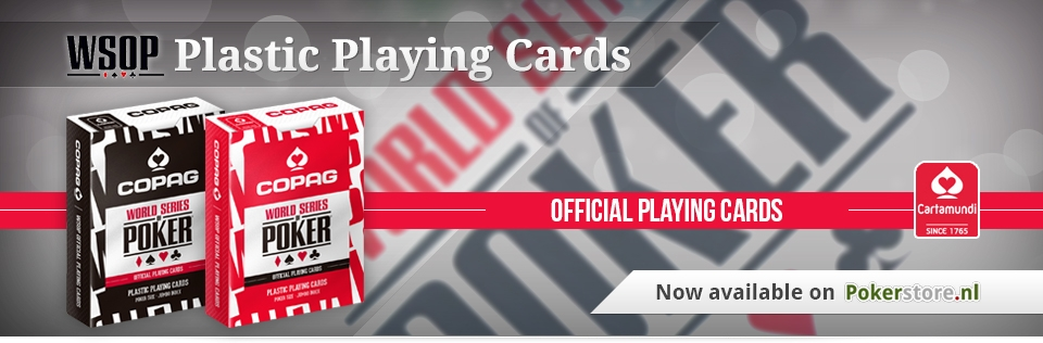 WSOP Plastic Playing Cards