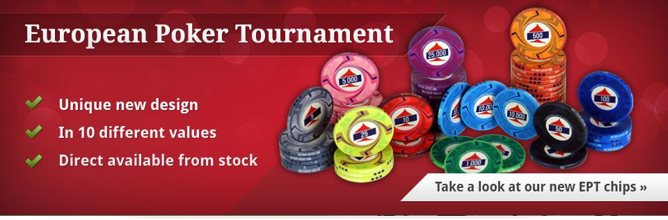 EPT poker chips
