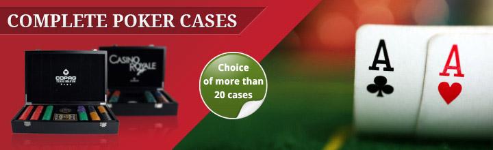 poker cases